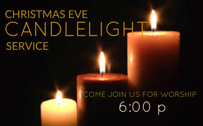 we hope you plan to attend our christmas eve candlelight service on sunday night december 24th at 600 pm childcare will not be provided but we will have